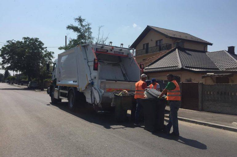 Program normal de colectare a deșeurilor, de Sărbători