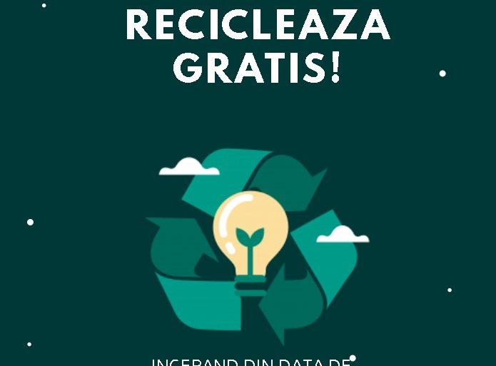 Firmele din Craiova beneficiază de ridicarea gratuită a deșeurilor reciclabile